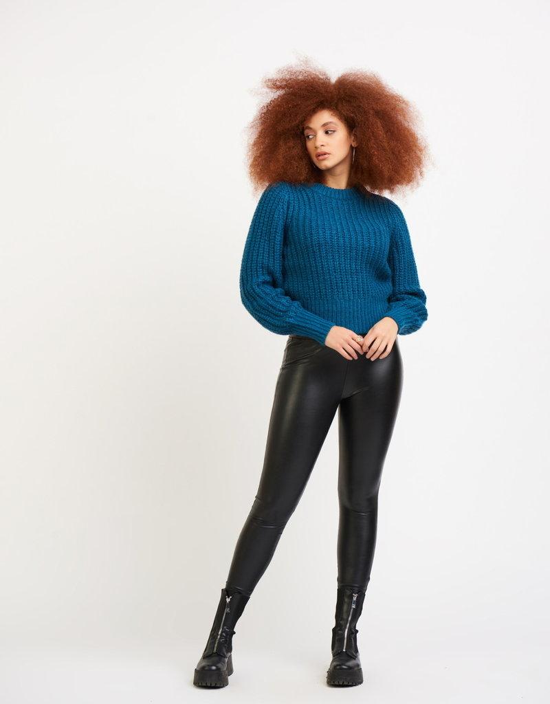 Dex LS Open Stitch Sweater