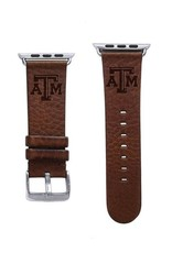 AFFINITY BANDS AFFINITY BANDS 38/40MM LEATHER WATCH BAND BROWN S