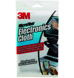 3M 3M MICROFIBER CLEANING CLOTH 12X14 - WHITE