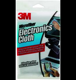 3M 3M MICROFIBER CLEANING CLOTH 12X14 - WHITE
