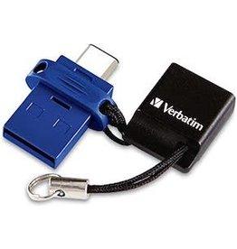 VERBATIM VERBATIM DUAL USB/USBC STORE'N'GO FLASH DRIVE 32GB