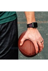AFFINITY BANDS AFFINITY BANDS 38MM SILICONE SPORT BAND - ATM - BLACK