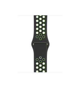 APPLE APPLE WATCH BAND 40MM BLACK/LIME BLAST NIKE SPORT BAND - REGULAR