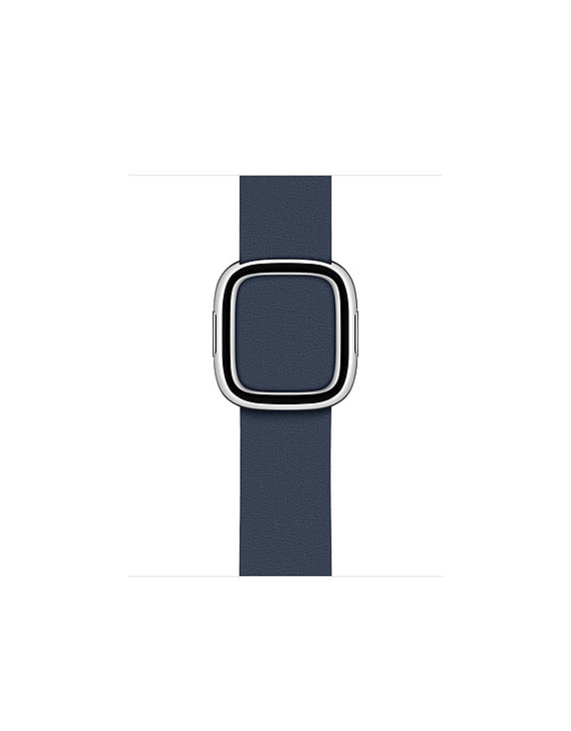 APPLE APPLE WATCH BAND 40MM DEEP SEA BLUE MODERN BUCKLE - MEDIUM