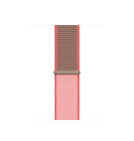 APPLE APPLE WATCH BAND 40MM NEON PINK SPORT LOOP