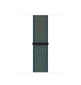 APPLE APPLE WATCH BAND 44MM HYPER CRIMSON/NEPTUNE GREEN NIKE SPORT LOOP