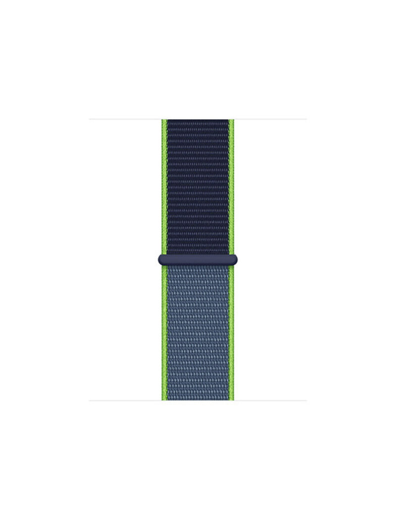 APPLE APPLE WATCH BAND 44MM NEON LIME SPORT LOOP