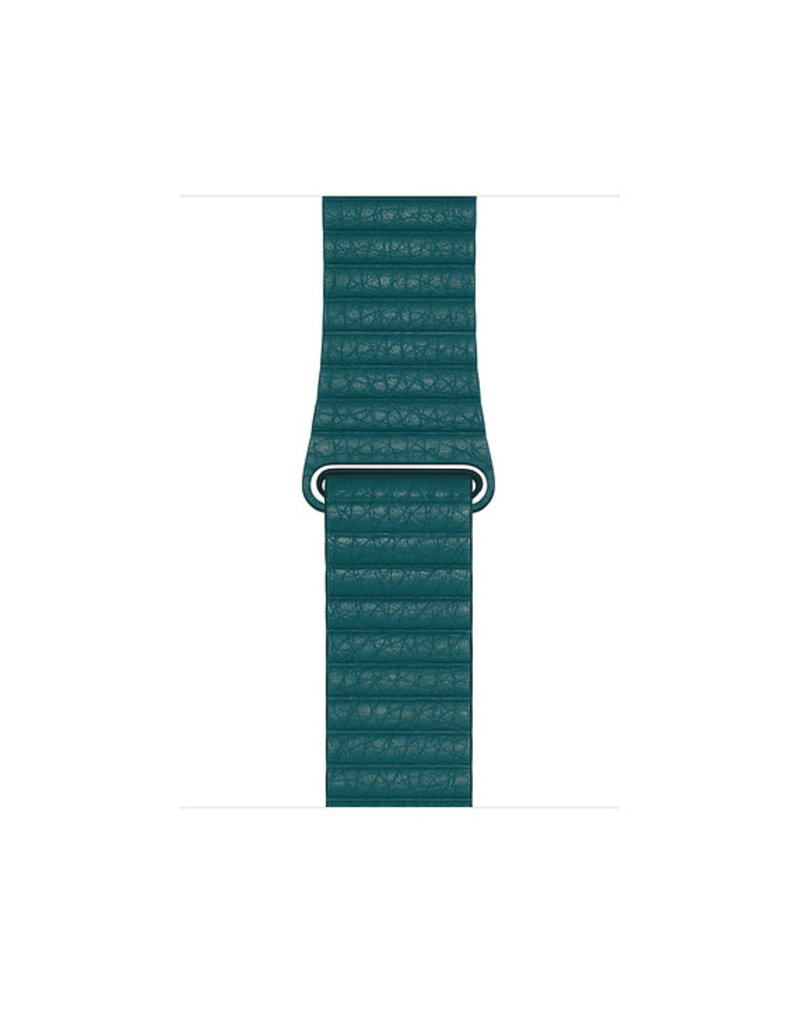 APPLE APPLE WATCH BAND 44MM PEACOCK LEATHER LOOP - LARGE