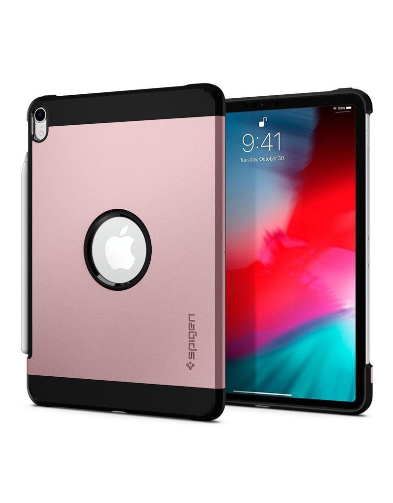 "SPIGEN SPIGEN IPAD PRO 12.9"" (2018) TOUGH ARMOR ROSE GOLD"