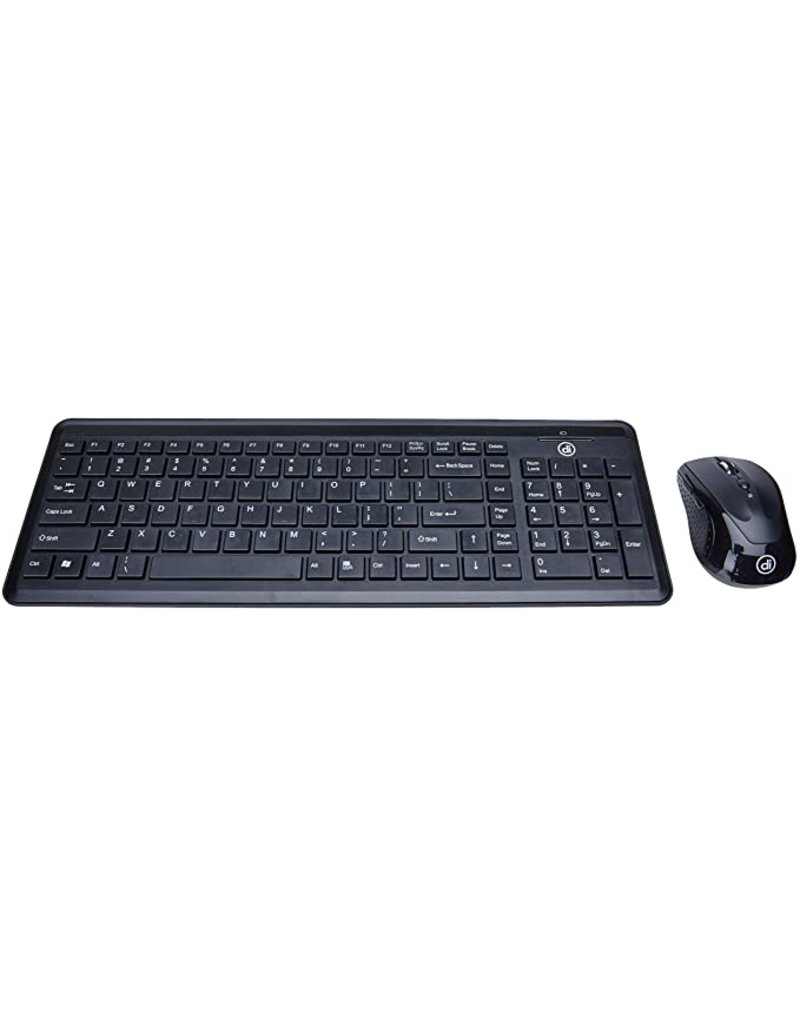 DIGITAL INNOVATIONS DIGITAL INNOVATIONS WIRELESS CLASSIC KEYBOARD WITH OPTICAL MOUSE