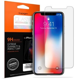 SPIGEN SPIGEN IPHONE X SCREEN PROTECTOR GLAS.TR SLIM HD