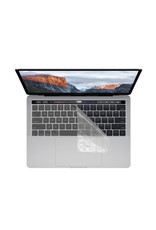 KUZY KEYBOARD COVER  MBP TB -CLEAR