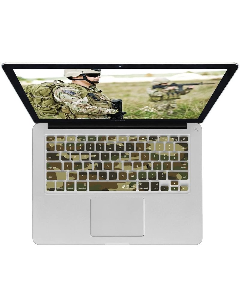 KB KEYBOARD COVER MBA/MBP RETINA - CAMOFLAGE
