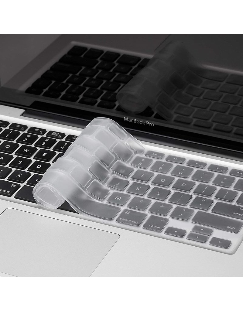 KUZY KEYBOARD COVER MBP NON-TB-CLEAR