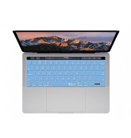 KB KEYBOARD COVER MBP W/TB - BLUE