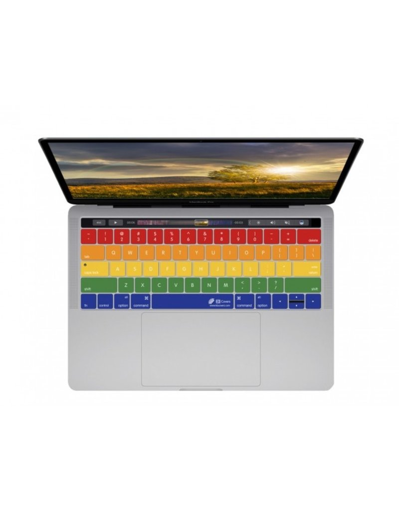 KB KEYBOARD COVER MBP W/TB - RAINBOW