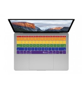 KB KEYBOARD COVER MBP/MB - RAINBOW