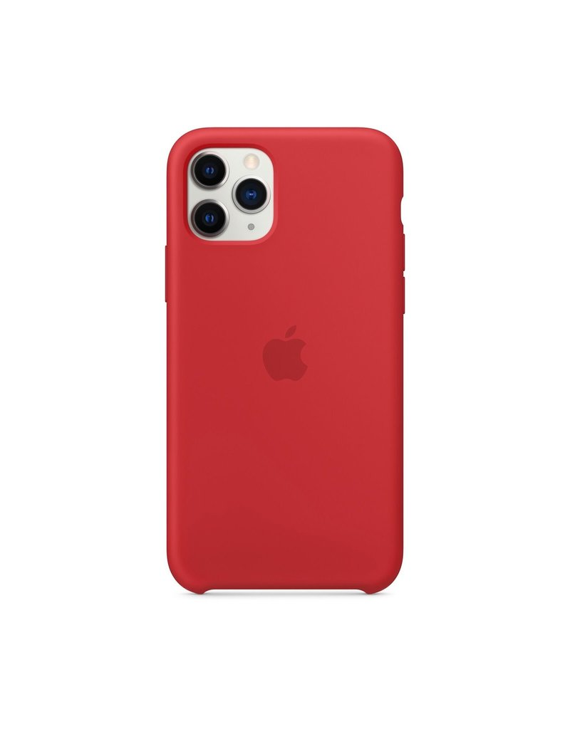 APPLE APPLE IPHONE PRO SILICONE CASE - RED