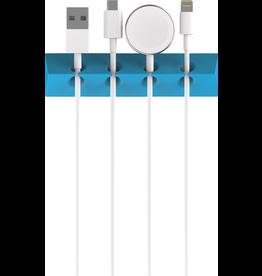 PRISM PRISM 4-CORD ORGANIZER WITH STICKER - BLUE