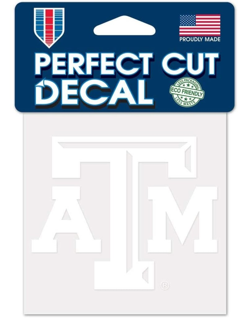 WINCRAFT WINCRAFT 4X4 WHITE DECAL - TEXAS A&M UNIVERSITY