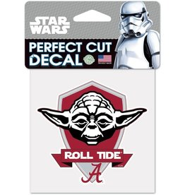 WINCRAFT WINCRAFT COLOR DECAL - TEXAS A&M UNIVERSITY STAR WARS YODA