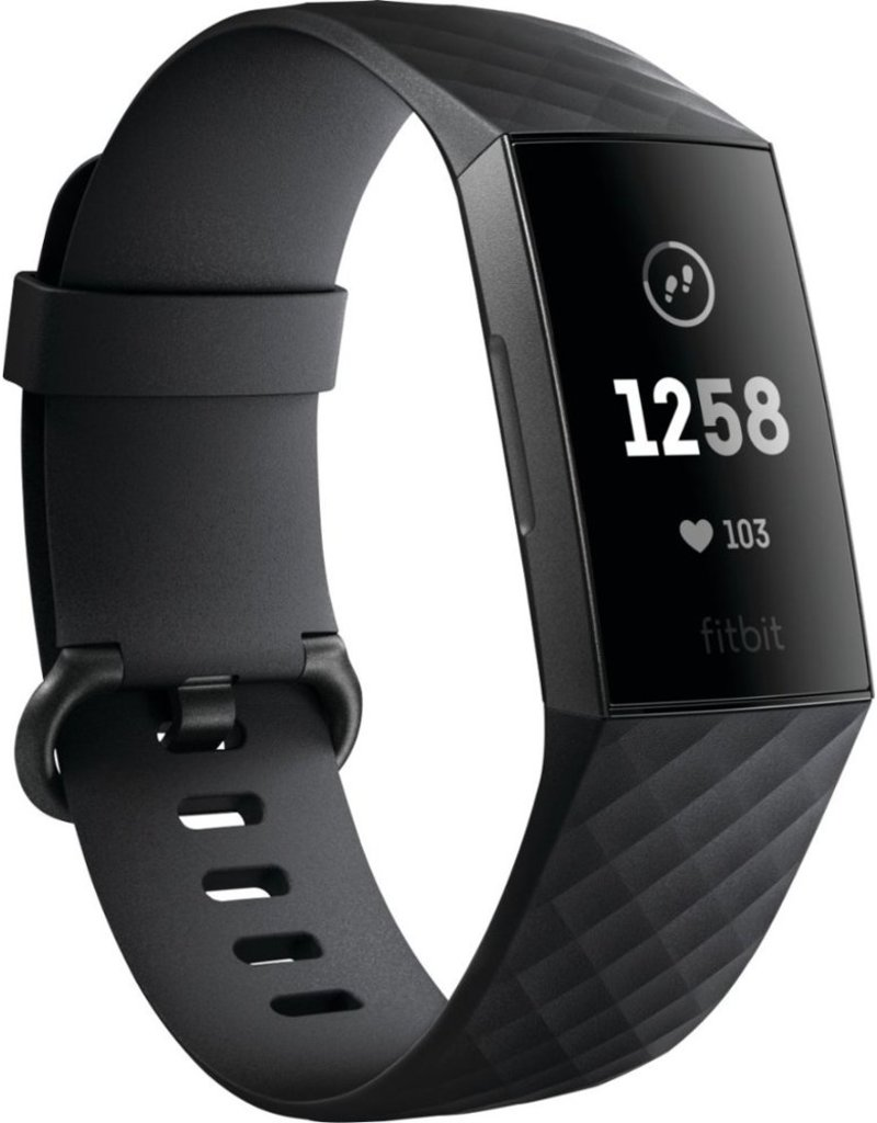 FITBIT FITBIT CHARGE 3 GRAPHITE/BLACK