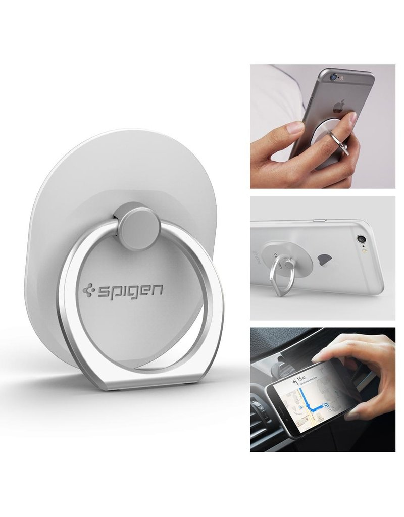 MISC 3RD PARTY SPIGEN STYLE RING - WHITE