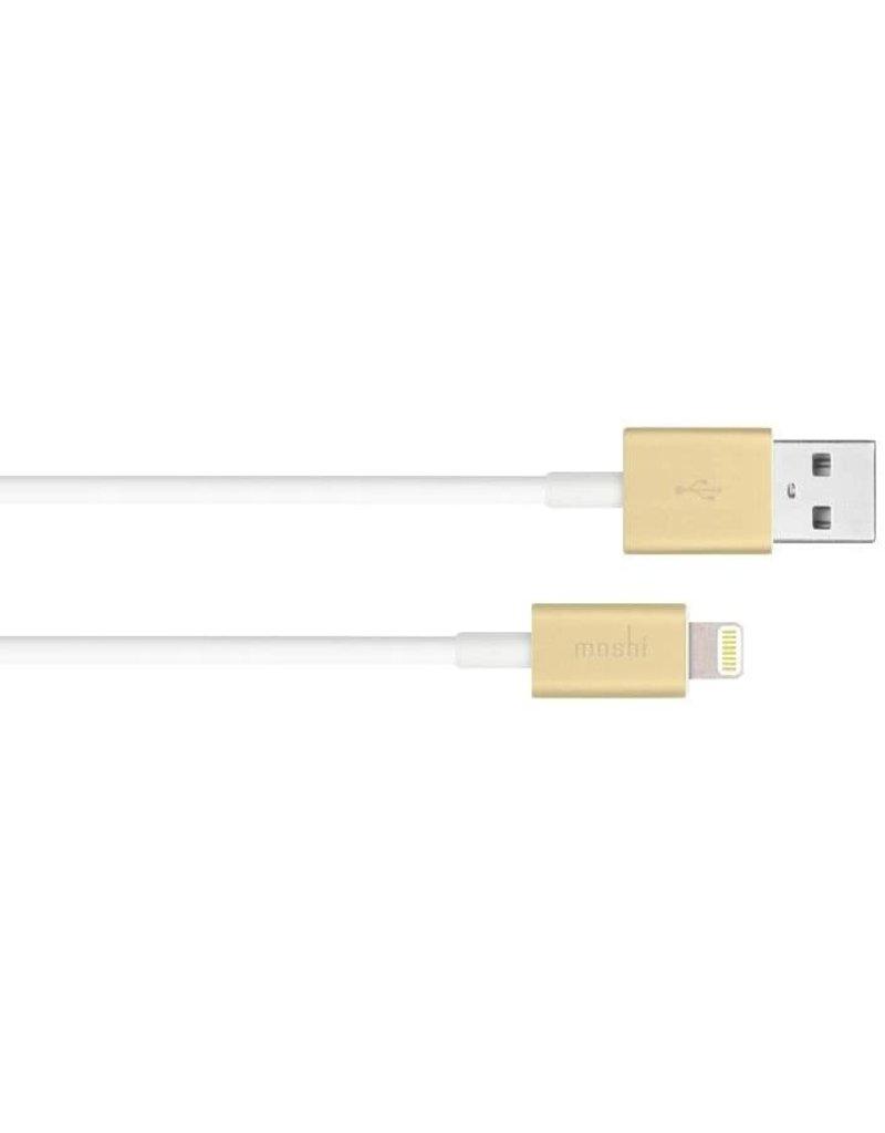 MOSHI MOSHI USB TO LIGHTNING (1M) GOLD