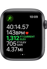 APPLE APPLE WATCH SERIES 5 GPS + CELLULAR, 44MM SPACE GRAY ALUMINUM CASE WITH BLACK SPORT BAND
