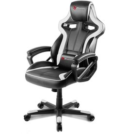 AROZZI AROZZI MILANO ENHANCED GAMING CHAIR - WHITE