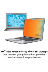 "3M 3M GOLD PRIVACY FILTER FOR 15.6"" LAPTOP WITH COMPLY (PRECISION 7550 / 3550, INSPIRON 5000) - FOR NON-TOUCH LAPTOPS"