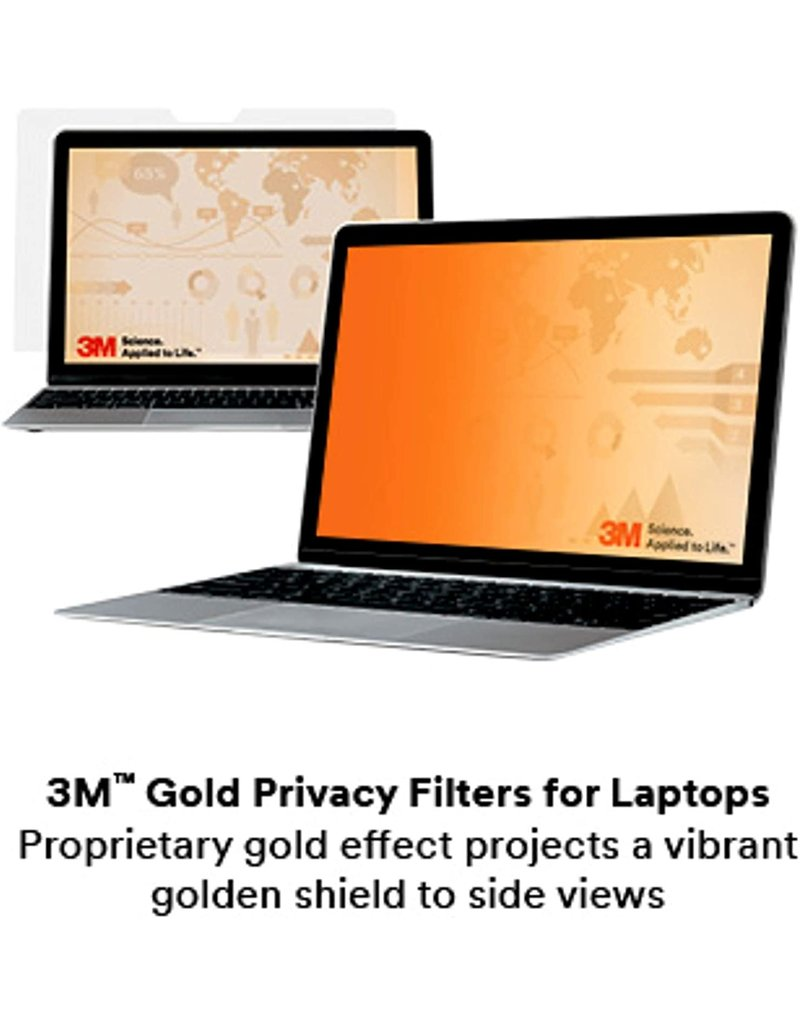 "3M 3M GOLD PRIVACY FILTER FOR MACBOOK PRO 16"" WITH COMPLY"