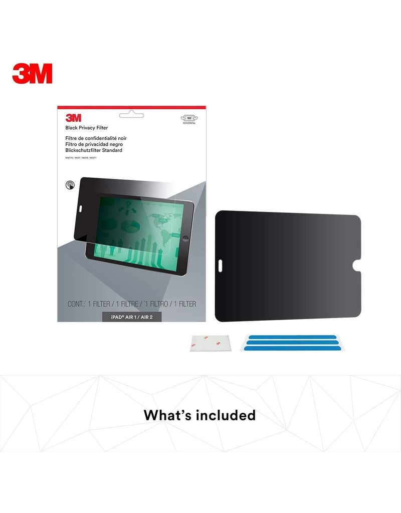 "3M 3M PRIVACY FILTER FOR IPAD AIR 1 / 2 / PRO 9.7"" LANDSCAPE"