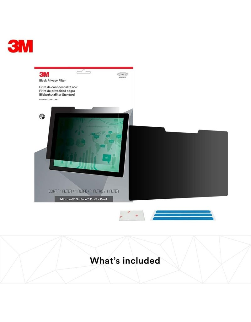 3M 3M PRIVACY FILTER FOR MICROSOFT SURFACE PRO 7 / 6 / 5 / 4