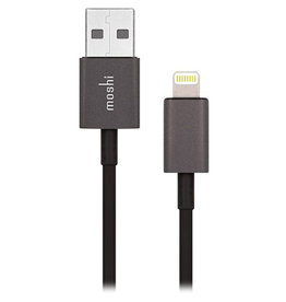 MOSHI MOSHI USB TO LIGHTNING (1M) - BLACK