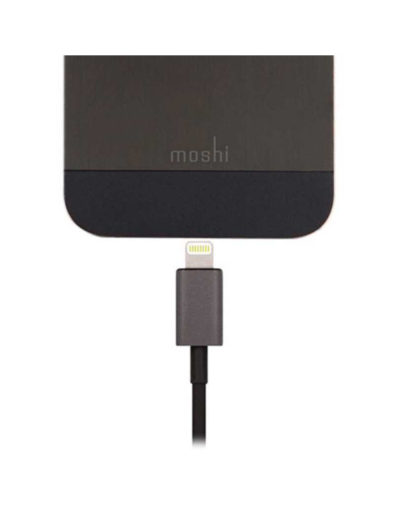 MOSHI MOSHI USB TO LIGHTNING (1M) - BLACK