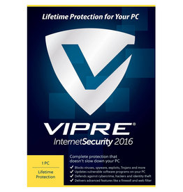 THREATTRACK SECURITY VIPRE INTERNET SECURITY 2016 - 1 DEVICE - WINDOWS LIFETIME LICENSE