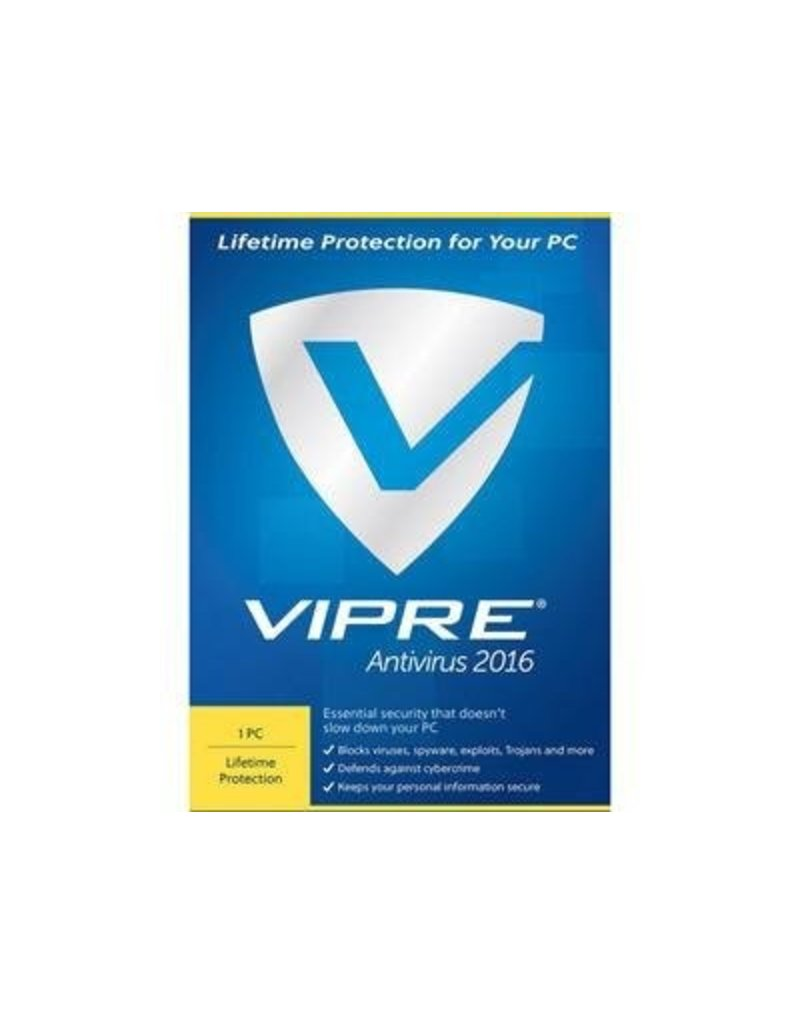 THREATTRACK SECURITY VIPRE ANTIVIRUS 2016 - 1 DEVICE - WINDOWS LIFETIME LICENSE