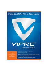 THREATTRACK SECURITY VIPRE ANTIVIRUS 2016 - 5 DEVICES - ANNUAL SUBSCRIPTION FOR WINDOWS