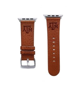 AFFINITY BANDS AFFINITY BANDS 38MM LEATHER WATCH BAND TAN L