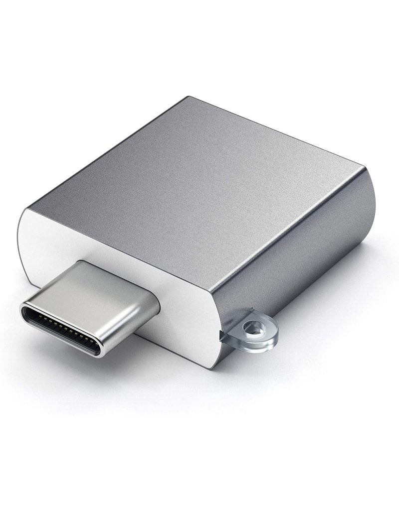 SATECHI SATECHI ALUMINUM USB-C TO USB-A 3.0 ADAPTER