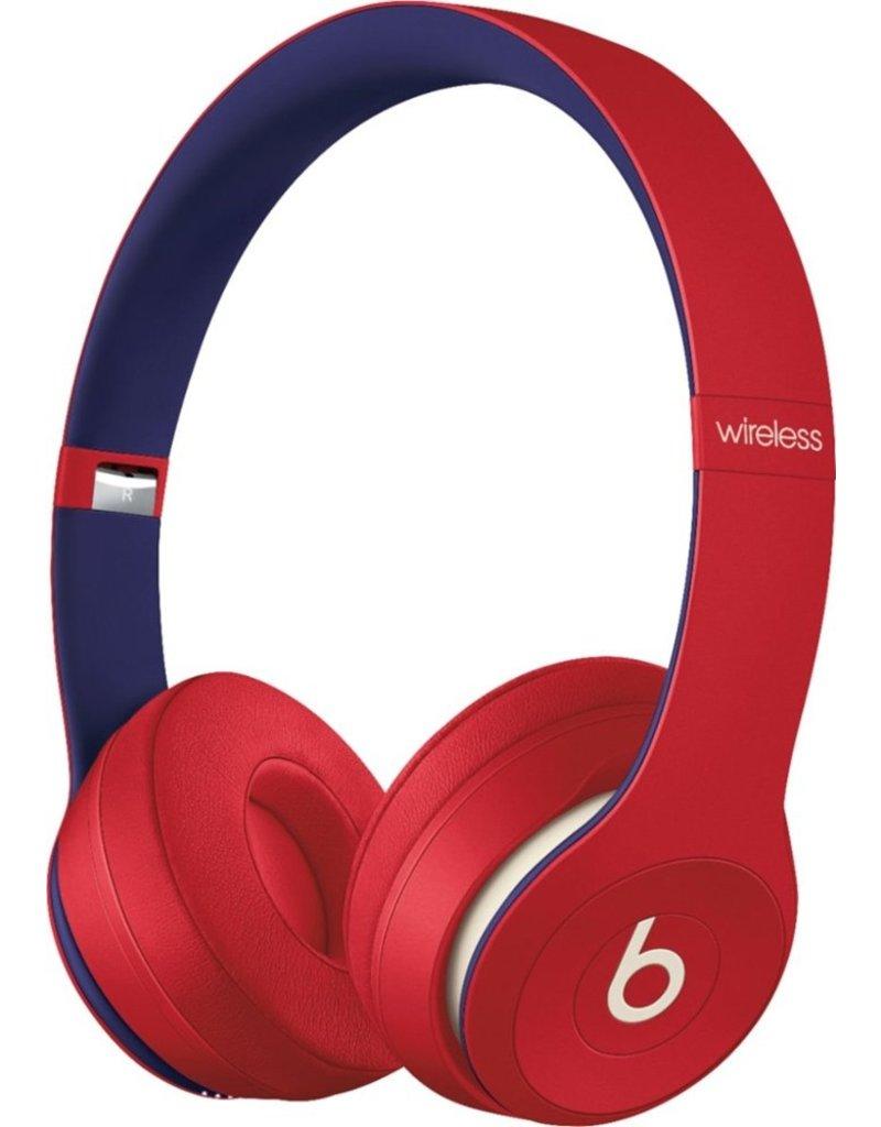 APPLE BEATS BY DRE SOLO3 WIRELESS HEADPHONES - CLUB RED