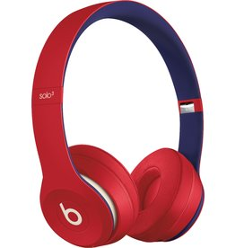 APPLE BEATS BY DRE SOLO3 WIRELESS HEADPHONES - CLUB RED