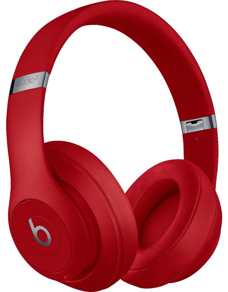 APPLE BEATS BY DRE STUDIO3 WIRELESS OVER-EAR HEADPHONES - RED