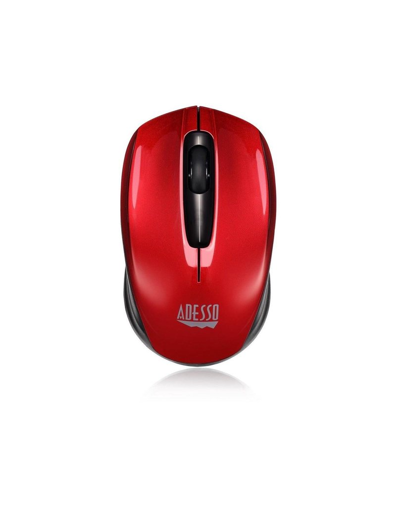 ADESSO ADESSO 2.4GHZ WIRELESS MINI OPTICAL MOUSE RED