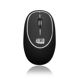 ADESSO ADESSO BLACK WIRELESS ANTI-STRESS GEL MOUSE