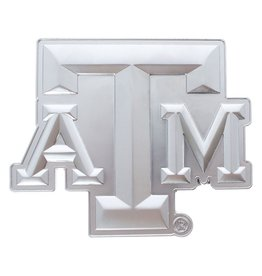 AGGIELAND OUTFITTERS DECAL - BLOCK ATM MATTE SILVER