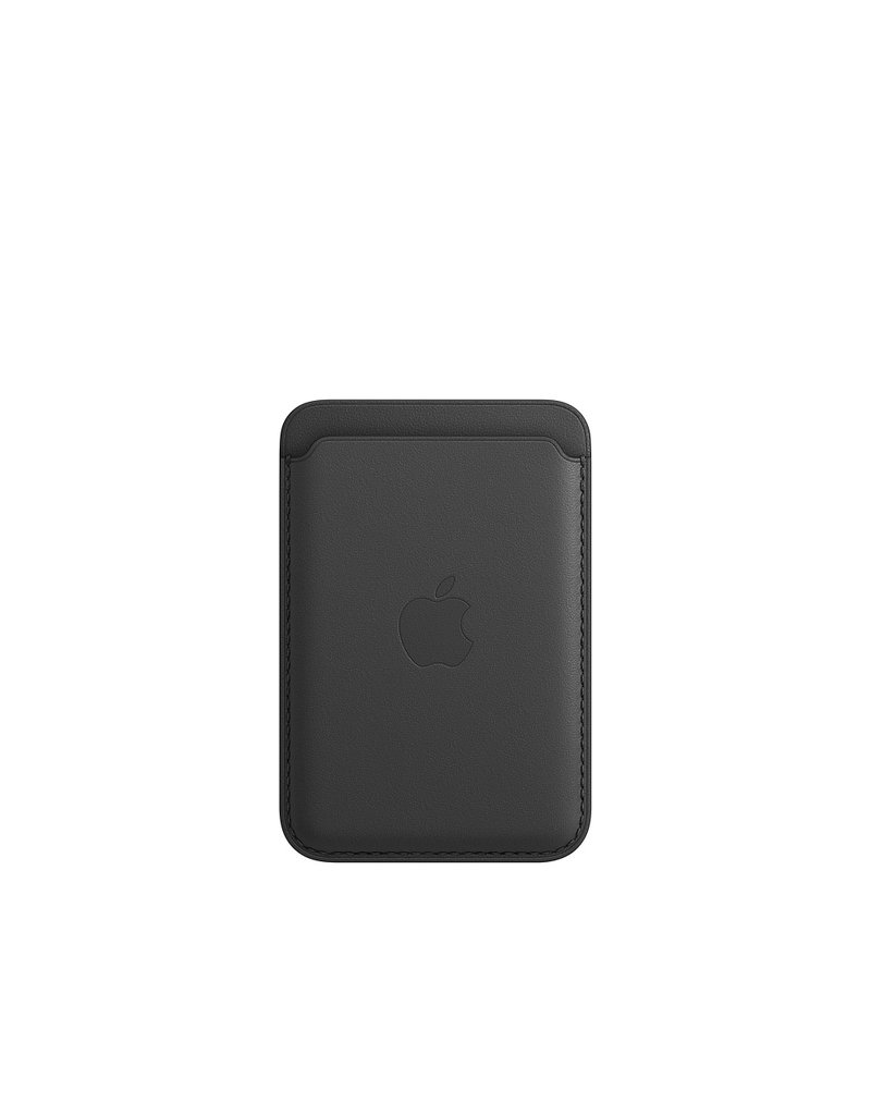 APPLE APPLE IPHONE 12 LEATHER WALLET WITH MAGSAFE - BLACK