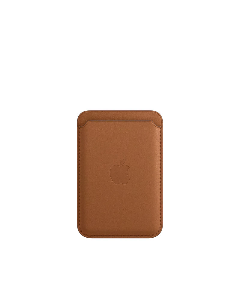 APPLE APPLE IPHONE 12 LEATHER WALLET WITH MAGSAFE - SADDLE BROWN