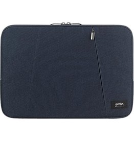 "SOLO SOLO  DOUBLE COMPARTMENT SLEEVE 15.6"" BLUE"